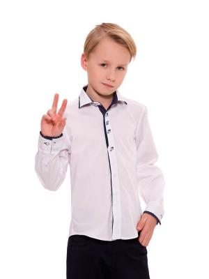 Школьная рубашка с длинным рукавом