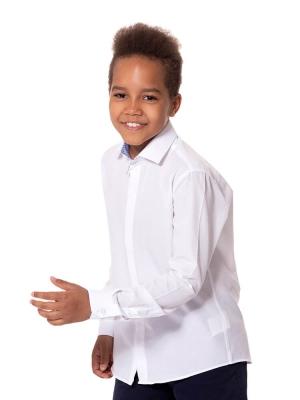 Детская рубашка на молнии